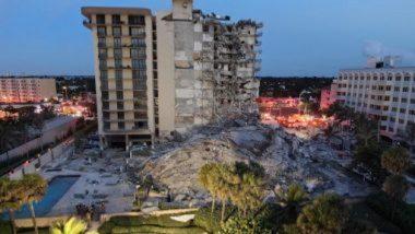 Miami: মিয়ামিতে হুড়মুড়িয়ে ভাঙল বহুতল, ভাইরাল ভিডিয়ো