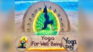 International Day of Yoga 2021: আন্তর্জাতিক যোগ দিবসের দিন অভিনব স্যান্ড আর্টে নজর কাড়লেন সুদর্শন পট্টনায়েক