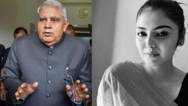 Saayoni Ghosh: 'হাভালা লা..', হাওয়ালা জৈন মামলা নিয়ে ধনখড়কে আক্রমণ সায়নী ঘোষের