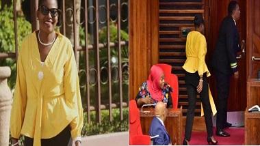 Tanzania: 'ঠিক পোশাক পরুন', ট্রাউজার পরায় তানজানিয়ার সংসদভবন থেকে বের করে দেওয়া হল মহিলাকে