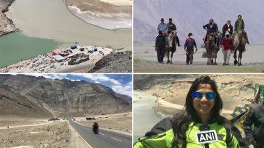 Ladakh: লাদাখে কোভিড নিষেধাজ্ঞা উঠতেই প্রকৃতির সৌন্দর্যের টানে ছুটে যাচ্ছেন পর্যটকেরা