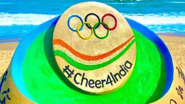 Tokyo Olympics 2020: অলিম্পিকে ভারতীয় অ্যাথলিটদের সমর্থনে পুরীর সমুদ্র সৈকতে অনবদ্য চিত্র ফুটিয়ে তুললেন সুদর্শন পট্টনায়েক