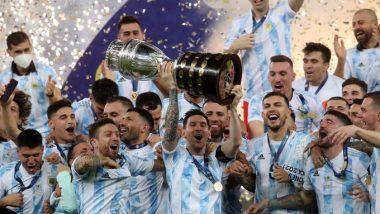 Copa America 2021: অবশেষে অধরা মাধুরী, ব্রাজিলকে হারিয়ে কোপা আমেরিকা জিতে আর্জেন্টিনাকে ট্রফি এনে দিলেন মেসি