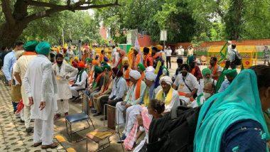 Farmers' Protest: বাদল অধিবেশনের মধ্যেই কৃষি আইন প্রত্যাহারের দাবিতে যন্তর মন্তরে ২০০ কৃষকের জমায়েত