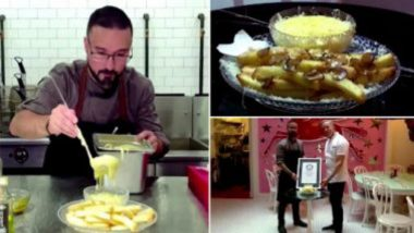 French Fries for $200: শ্যাম্পেনে চোবানো চর্বিতে ভাজা স্বর্ণকুচির টপিংয়ে ফ্রেঞ্চ ফ্রাই, দাম কত জানেন?