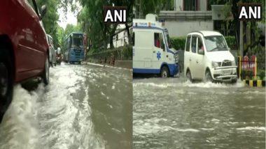 Kolkata Rain: ভারী বৃষ্টির পর শহরের যেসব জায়গায় জমল