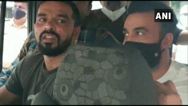 Shilpa Shetty's Husband Raj Kundra: মুখে কালো মাস্ক, শিল্পার স্বামী রাজকে তোলা হল আদালতে