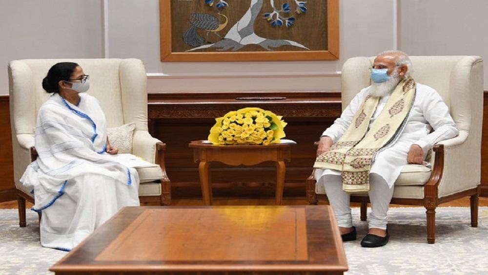 Mamata Banerjee: 'সৌজন্য সাক্ষাৎ', প্রধানমন্ত্রী মোদীর সঙ্গে দেখা করে জানালেন মমতা