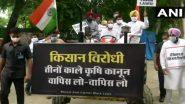 Rahul Gandhi: কৃষি আইনের বিরোধিতায় ট্রাক্টর চালিয়ে সংসদে এলেন রাহুল গান্ধী (দেখুন ছবি)