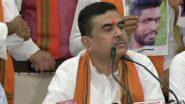 Rajya Sabha Bypolls: ভবানীপুরে মমতা ব্যানার্জিকে হারানোই ফোকাস, তাই রাজ্যসভা উপনির্বাচনে প্রার্থী দিচ্ছে না বিজেপি, জানালেন শুভেন্দু অধিকারী