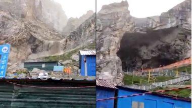 Jammu and Kashmir: কাশ্মীরে অমরনাথ গুহার কাছে মেঘভাঙা বৃষ্টিতে আতঙ্ক