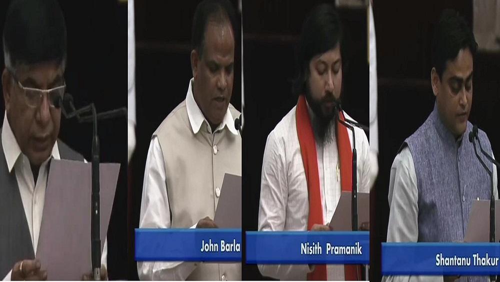 Modi Cabinet Reshuffle: বাংলার ৪, কেন্দ্রীয় মন্ত্রিসভায় সুভাষ সরকার, জন বার্লা, নিশীথ প্রামাণিক, শান্তনু ঠাকুর