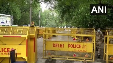 Delhi: কৃষি বিলের প্রতিবাদে যন্তর মন্তরে বিক্ষোভ কৃষকদের, কড়া নিরাপত্তার মোড়কে দিল্লি