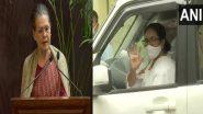 Mamata Banerjee: চব্বিশের লোকসভাই পাখির চোখ, বুধবার সোনিয়ার সঙ্গে বৈঠকে মমতা