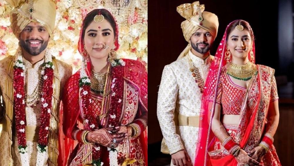Rahul-Disha Wedding: সাতপাকে বাঁধা পড়লেন রাহুল-দিশা, দেখুন অনুষ্ঠানের ঝলক
