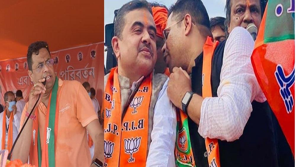 Saumitra Khan: দিল্লি গিয়ে কেন্দ্রীয় নেতৃত্বকে ভুল বোঝানো হচ্ছে, শুভেন্দুর বিরুদ্ধে একের পর এক তোপ সৌমিত্রর