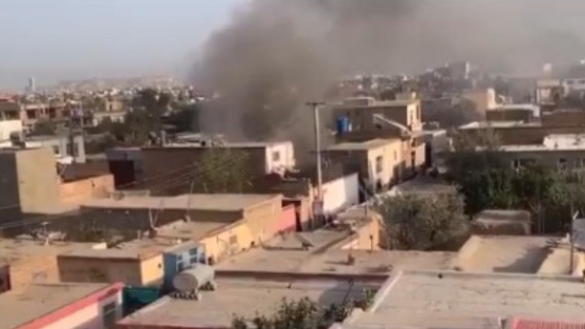 Explosion In Kabul: সন্দেহভাজন আইএসআইএস-কে জঙ্গিদের লক্ষ্য করে কাবুলে রকেট হামলা মার্কিন সেনার