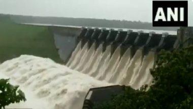 Madhya Pradesh: মুষলধারে বৃষ্টি, পরপর খুলল বাধের ১০টি গেট, দেখুন ভিডিয়ো