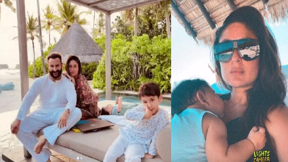 Kareena Kapoor Khan: মায়ের কোলে ঘুমোচ্ছে ছোট্ট জেহ, ভাইরাল করিনার ছবি