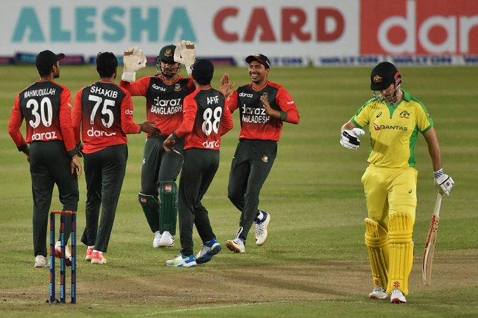 Bangladesh vs Australia 1st T20I 2021: টি-২০তে অস্ট্রেলিয়াকে হারিয়ে চমক বাংলাদেশের