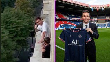 Lionel Messi: প্যারিসে মালওয়ালি ভক্তদের ডাকে সাড়া দিয়ে হাত নাড়লেন মেসি, দেখুন ভিডিও