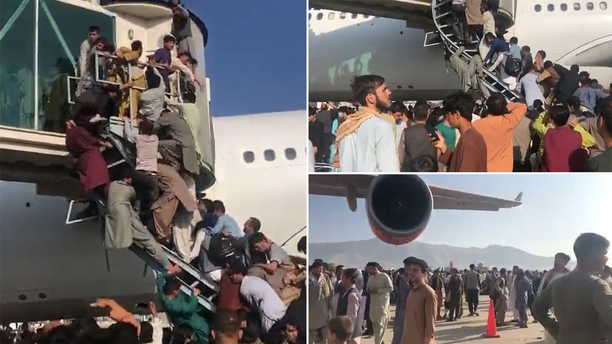 Afghanistan Crisis: কাবুল বিমানবন্দর থেকে বিমান চলাচল বন্ধ, যাচ্ছে না এয়ার ইন্ডিয়ার বিমান