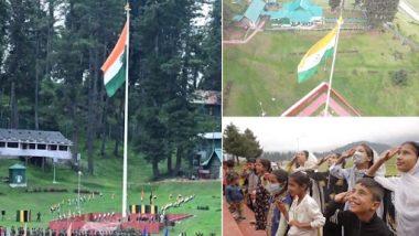 Jammu and Kashmir: ১০০ ফিটের জাতীয় পতাকা জম্মু কাশ্মীরে, ভাইরাল ভিডিয়ো