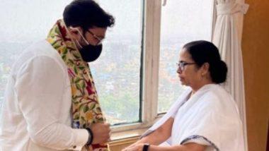 নবান্নে মুখ্যমন্ত্রী মমতা ব্যানার্জির সঙ্গে দেখা করলেন বাবুল সুপ্রিয়