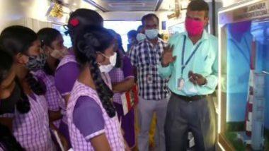 ISRO's Exhibition For Students: বাসের মধ্যে চন্দ্রযান-মঙ্গলযান, পড়ুয়াদের জন্য ইসোরর প্রদর্শনী (দেখুন ছবি)
