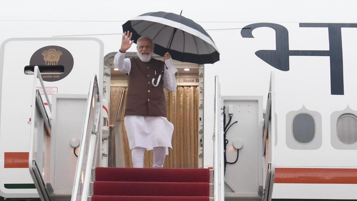 Narendra Modi's USA Visit: আমেরিকা পৌঁছলেন প্রধানমন্ত্রী নরেন্দ্র মোদী, পেলেন উষ্ণ অভ্যর্থনা
