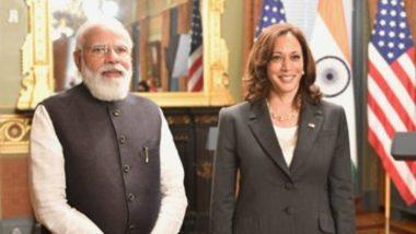 Narendra Modi's USA Visit: মার্কিন ভাইস প্রেসিডেন্ট কমলা হ্যারিসের সঙ্গে সাক্ষাৎ করলেন নরেন্দ্র মোদী, জানালেন ভারতে আসার আমন্ত্রণ