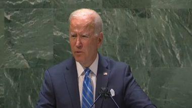 Joe Biden: 'আমেরিকা ঠাণ্ডা যুদ্ধ চায় না', চিনের প্রসঙ্গ টেনে রাষ্ট্রসংঘে বার্তা বাইডেনের