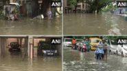 Waterlogged Kolkata: ভারী বর্ষণে জলমগ্ন গল্ফগ্রিন, (দেখুন ছবি)
