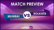 IPL 2021, MI vs KKR: আইপিএলে আজ মুম্বই ইন্ডিয়ান্স বনাম কলকাতা নাইট রাইডার্স, জেনে নিন দুই দলের সম্ভাব্য একাদশ ও পরিসংখ্যান