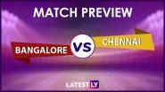 IPL 2021, RCB vs CSK: আইপিএলে আজ রয়্যাল চ্যালেঞ্জার্স ব্যাঙ্গালোর বনাম চেন্নাই সুপার কিংস, জেনে নিন দুই দলের সম্ভাব্য একাদশ ও পরিসংখ্যান