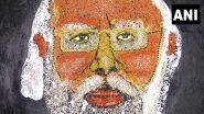 PM Narendra Modi Birthday: জন্মদিনে মোদীকে শ্রদ্ধা, খাদ্যশস্য দিয়ে ৮ ফিটের ছবি তৈরি ওড়িশা কন্যার