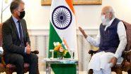 Narendra Modi's USA Visit: মার্কিন সফরে প্রথম বৈঠকে প্রধানমন্ত্রী নরেন্দ্র মোদী
