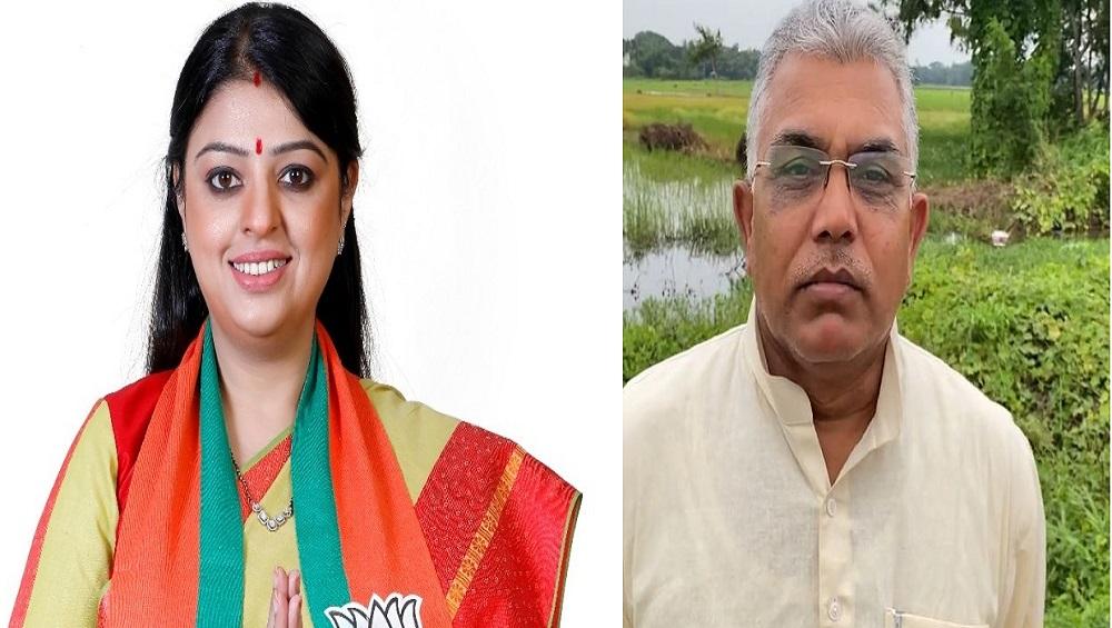 Bhabanipur By-Election: 'ভবানীপুরের মানুষের উপর আস্থা ছিল না মমতার', প্রিয়াঙ্কাকে পাশে নিয়ে আক্রমণ দিলীপের