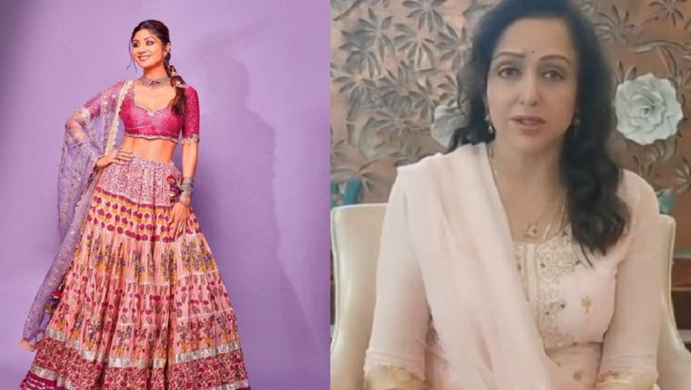 Shilpa Shetty: ধর্মেন্দ্রর 'স্টেপে' নাচ, হেমা মালিনীর পা ছুঁয়ে প্রণাম শিল্পা শেট্টির