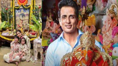 Ganesh Chaturthi 2021:  শিল্পা থেকে সোনু, গণপতি আরাধনায় মত্ত বলিউড তারকারা