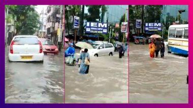 Kolkata ভাসছে, একটানা বৃষ্টিতে জলমগ্ন শহর