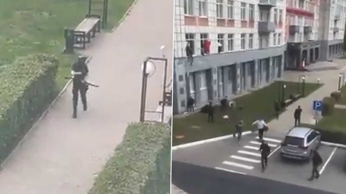 Russia Shooting: বন্দুকবাজ ছাত্রের গুলিতে রাশিয়ার বিশ্ববিদ্যালয় ক্যাম্পেসে ৮ জনের মৃত্যু