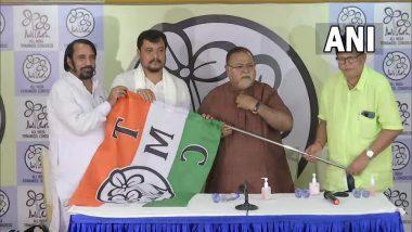 Soumen Roy joins TMC: সপ্তাহের তৃতীয় ধাক্কা, এবার ফুল বদলে তৃণমূলে যোগ দিলেন কালিয়াগঞ্জের বিজেপি বিধায়ক সৌমেন রায়