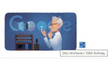 Otto Wichterle Google Doodle: কনট্যাক্ট লেন্স আবিষ্কর্তা অটো উইটারলে-র ১০৮-তম জন্মদিনে গুগলের ডুডল