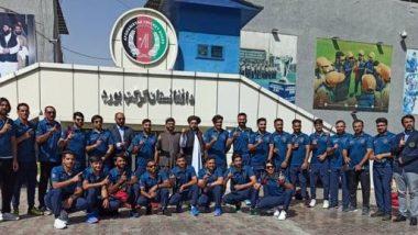 Afghanistan Cricket Team: টি টোয়েন্টি বিশ্বকাপে খেলতে দেশ ছেড়ে রওনা দিল আফগানিস্তান দল
