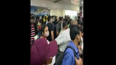 Bagdogra Airport: করোনা সংক্রমণকে বুড়ো আঙুল দেখিয়ে জনস্রোত বাগডোগরা বিমানবন্দরে