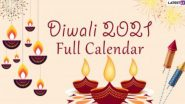 Diwali 2021 Calendar With Dates in India: আসন্ন আলোর উৎসবে কবে কালীপুজো, ধনতেরাস, ভূত চতুর্দশী, ভাতৃদ্বিতীয়া, দেখে নিন এক ঝলকে