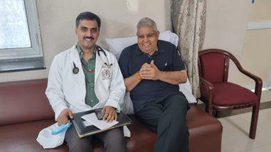 Jagdeep Dhankhar Discharged From AIIMS: ম্যালেরিয়ার কবল থেকে মুক্ত, এইমস থেকে ছাড়া পেলেন রাজ্যপাল জগদীপ ধনখড়