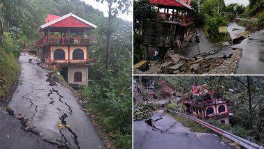 Darjeeling Rain: টানা বৃষ্টিতে বিপর্যস্ত দার্জিলিং, একাধিক জায়গায় ধস নেমে রাস্তা বন্ধ, খাদে গাড়ি পড়ে মৃত ১
