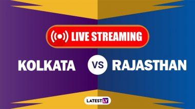 KKR vs RR, IPL 2021 Live Cricket Streaming: কোথায়, কখন দেখবেন কলকাতা নাইট রাইডার্স বনাম রাজস্থান রয়্যালস ম্যাচের সরাসরি সম্প্রচার